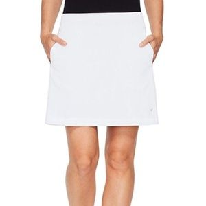NEW Callaway Opti-Dri White Knit Athletic Skort